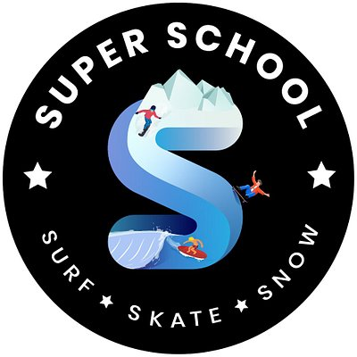 SUPER SCHOOL LOGO ®©™