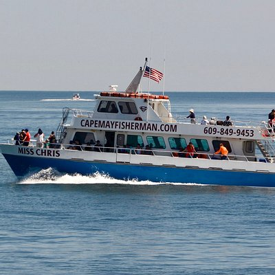 the 75 foot Fishing Vessel Miss Chris Underway off of Cape May, NJ