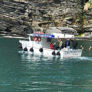 Nord Est boat tour