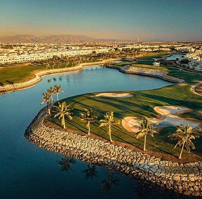 Al Hamra Golf Course aerial view