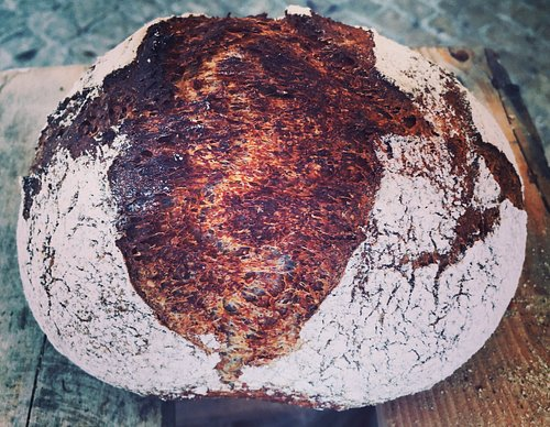The only place where you can find real Sourdough bread..