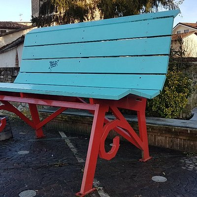 Panchina Gigante Azzurra