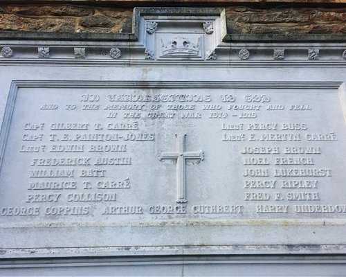 7.  Smarden War Memorial, Smarden, Kent