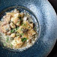 yoto Pork and Cauliflower Paccheri 高原豚 カリフラワー パッケリ