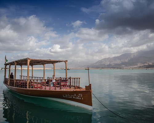 Our traditional pearl diving boat