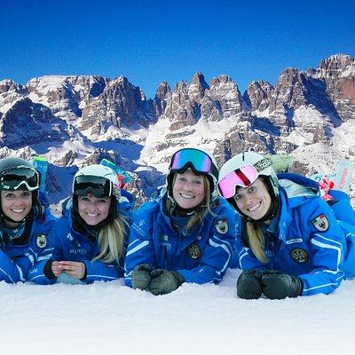 Maestre di sci Dolomitiche