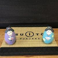Hakata doll painting