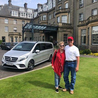 Gleneagle Hotel transfer to Glasgow Airport