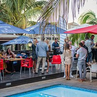 Good vibes around our pool area at Fiamma Grill