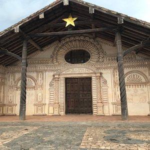 Todas as igrejas do circuito das missões bolivianas , têm a mesma arquitetura