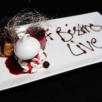 Dessert Trio at Bistro Live