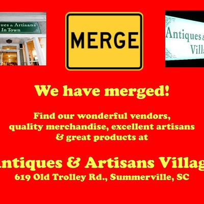 No longer open on W. Richardson but merged into our much larger location only 6 minutes away.  Over 150 vendors & consignors.  Plenty of free parking.