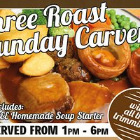 Our great Sunday Carvery