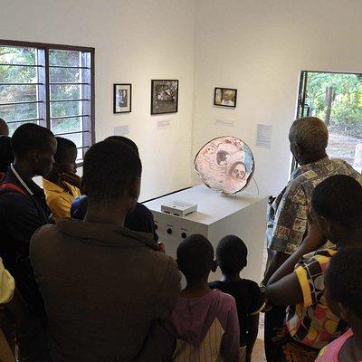 Mangi Meli Remains - Video sculpture