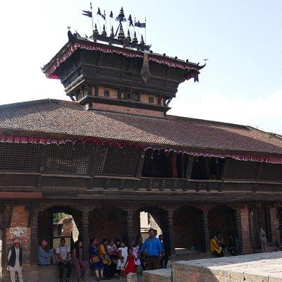 Bhaktapur, Tachupal Tole, il tempio di Bhimsen