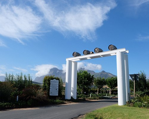 Backsberg has been in the Back family for four generations. The fifth-generation Back joined the family in 2019 (hence the tiny barrel at our entrance).