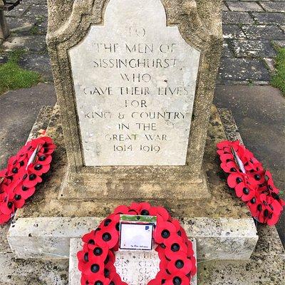 7.  Sissinghurst War Memorial, Sissinghurst, Kent