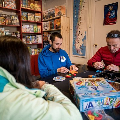 La tienda de juegos de mesa en Puerto Natales