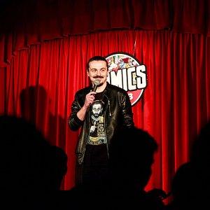 Stand-up comedy in Bucuresti la Comics Club.