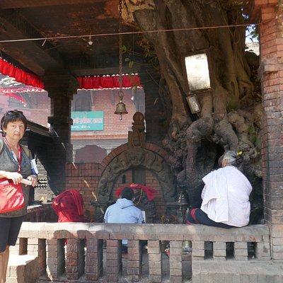 Bhaktapur, tempio di Indrayani, dedicato a Kali