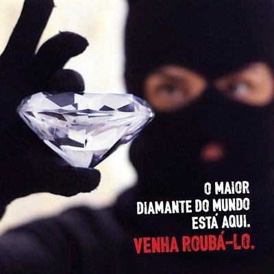 O Roubo do Diamante - o maior diamante do mundo está em Gramado. Um plano, e você tenta rouba-lo!