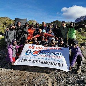 Best team you can hope for in Kilimanjaro climbing & Safari