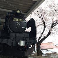 蒸気機関車C58 103