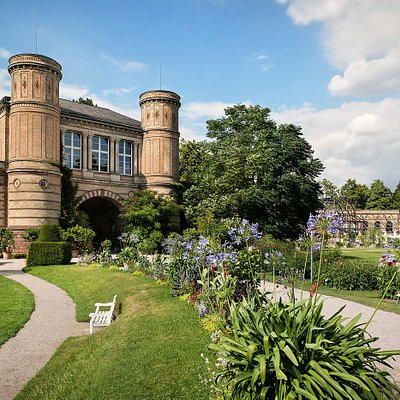 Architektur im Botanischen Garten von Heinrich Hübsch
