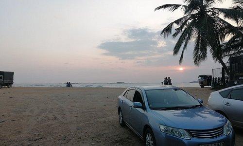 🌞 Sun Set @Unawatuna Beach