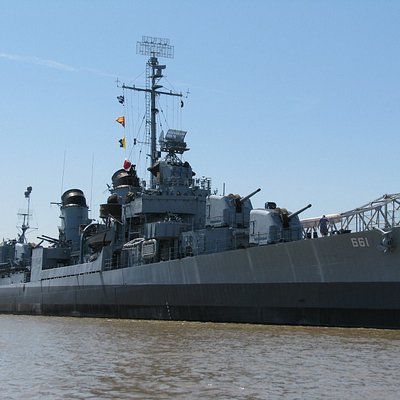 USS KIDD is a Fletcher-class destroyer originally commissioned in 1943. The KIDD served in World War II, the Korean War, and into the Vietnam War Era. She was decommissioned in 1964 and became a museum ship and memorial in Baton Rouge in 1982.
