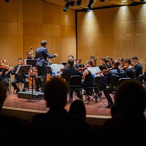 Concert à la salle Gilles-Lefebvre.
