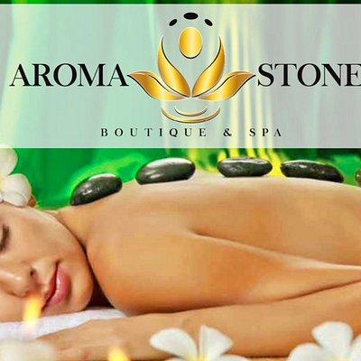 Aroma Stone Spa wall design