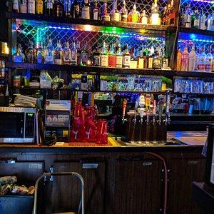 Main Bar at the Crescent Lounge.