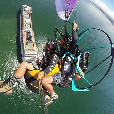 Flying Paramotor - Punta del este 2020
