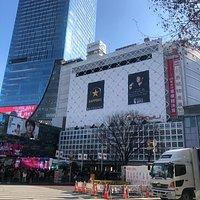 渋谷新旧。