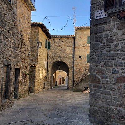 La PORTICCIOLA , una delle quattro Porte del Centro storico !
