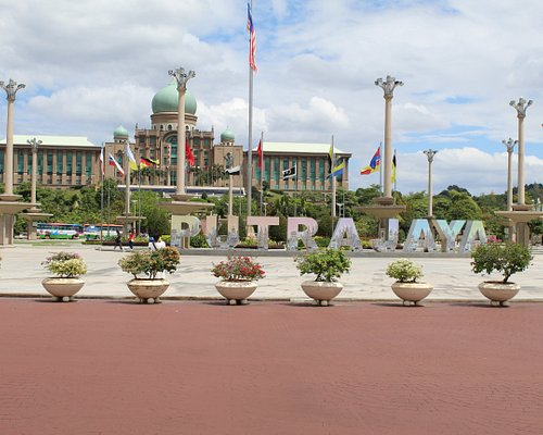 Putra Jaya the place of tourist attraction in Malaysia.