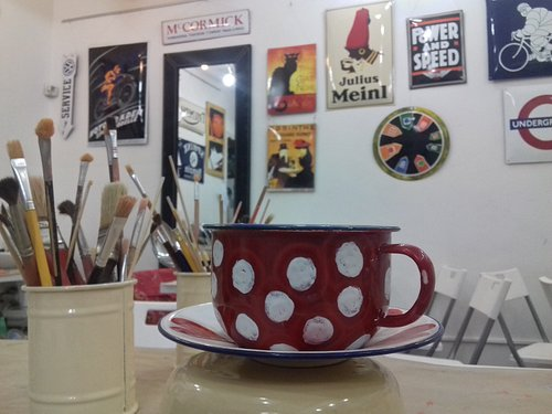 Paint your own mug :-)