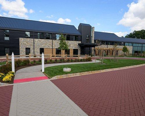 Exterior photo of Liberty Hall Academic Center