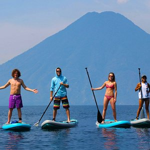 Travel is about adventure, fun and connection.  At Stand Up Paddle Atitlan we try to combine all of this into one experience.  There is always time to try and learn new thing.