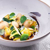 potato and lovage