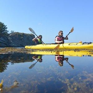 Guided kayaktour Jørpeland