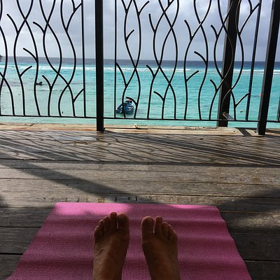 Yoga with the best view ever!