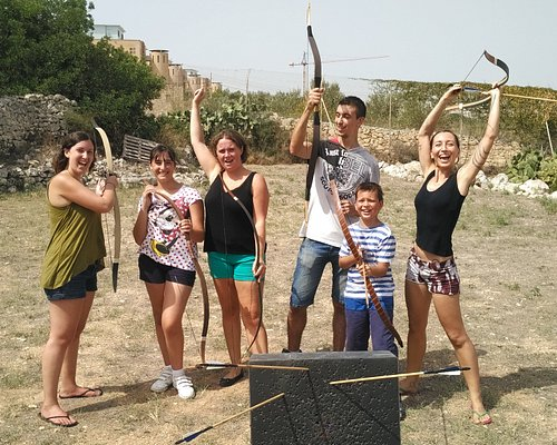 Happy archers :-)