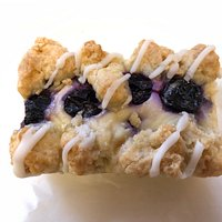 Blueberry Cheesecake, top view.