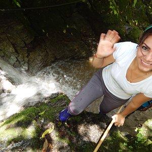 Las cascadas son hermosas y de fácil acceso.