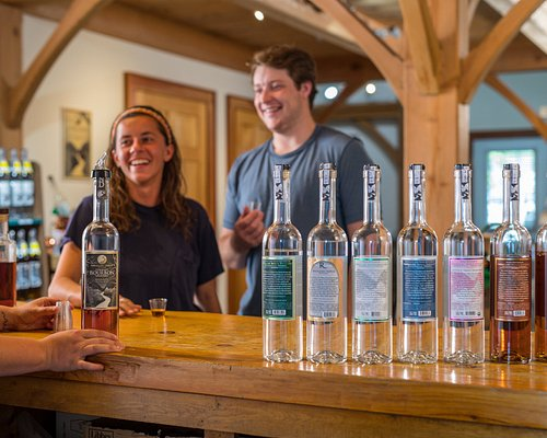Sippin' at the Distillery Tasting Room