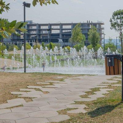 Park rekreacji w Koprze