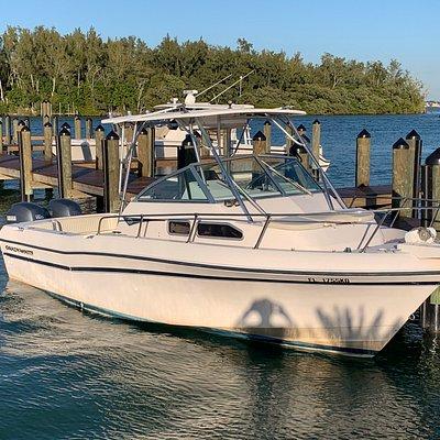 Sarasota Son docked at Shore Restaurant Long Boat Key, FL.