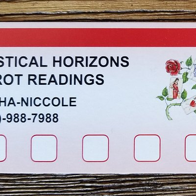 Loyalty cards! After five paid readings you get one FREE!